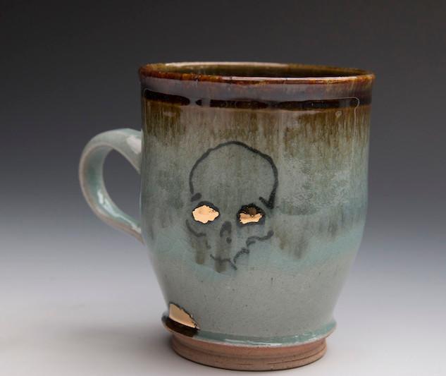 Corey Jefferson, Skull Mug.jpg