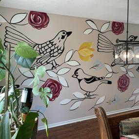 Megan Jefferson interior dining room mur