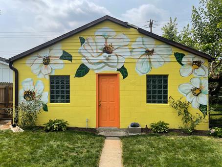 Summer Bloom Mural