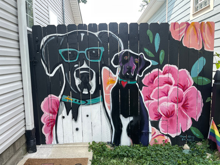Interactive Murals for Dogs? Yes, please.