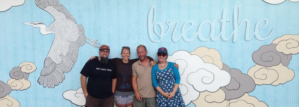 Jiffy Lube Breathe Mural