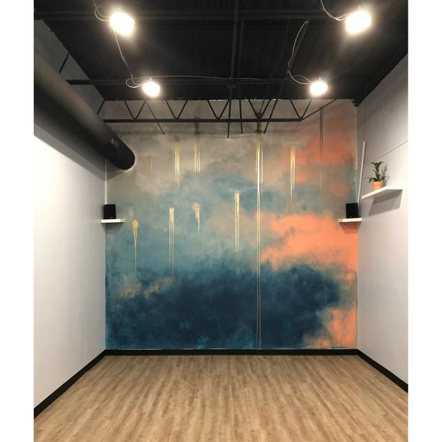 Breathing Space Yoga Mural