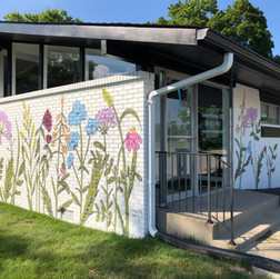 Megan Jefferson's Wildflower Mural