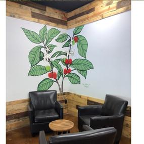 Brickhouse Coffee Mural