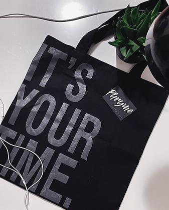 Tote Bag #itsyourtime