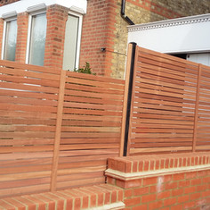 Fencing, Horizontal Fencing, Horizontal