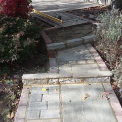 Path, Paving Collage, Steps, Block Pavin