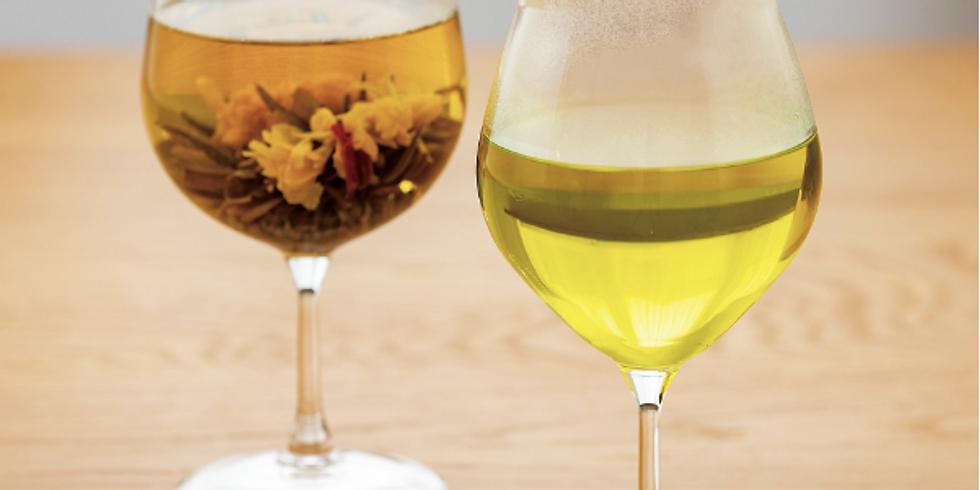 イベントレッスン No.5 HARIOの耐熱ワイングラスを使って Spring Tea & Table Coordinate Lesson
