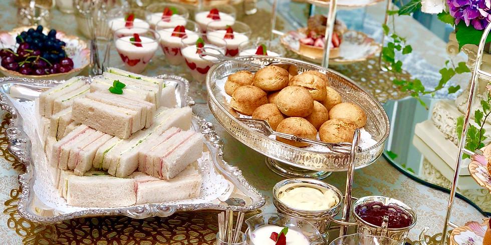 イベントレッスン No.1 英国仕込みのおもてなし術とATパーティーテーブル(春夏編)& イースターATパーティー(立食)