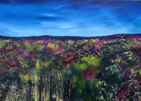 Peak District - Purple Texture