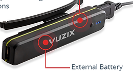 Vuzix M300 controls for Augmented reality Remote Adviser 2