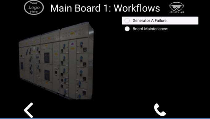 UtilityAR Remote Adviser Procedure Following Workflow steps