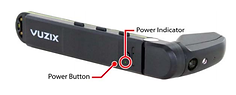Vuzix M300 controls for Augmented reality Remote Adviser