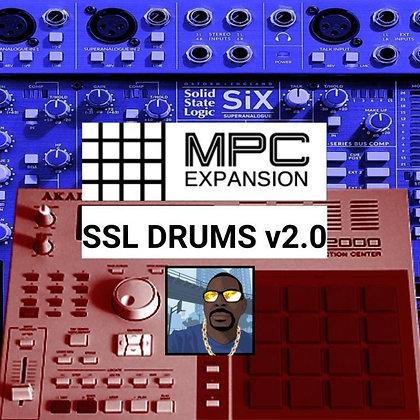 SSL MEGA DRUM EXPANSION V2.0