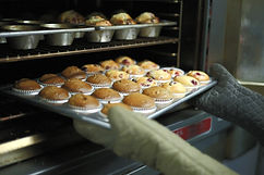 Gluten Free Muffins out the oven
