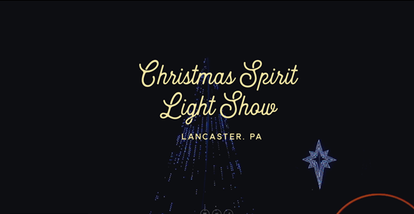 Christmas Spirit Light Show - Lancaster County