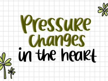 Interpreting the Graph on Pressure Changes in the Heart