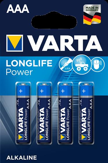 AAA - VARTA mikrotužkové baterie