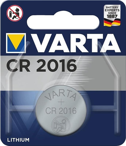Knoflíková baterie - VARTA CR2016