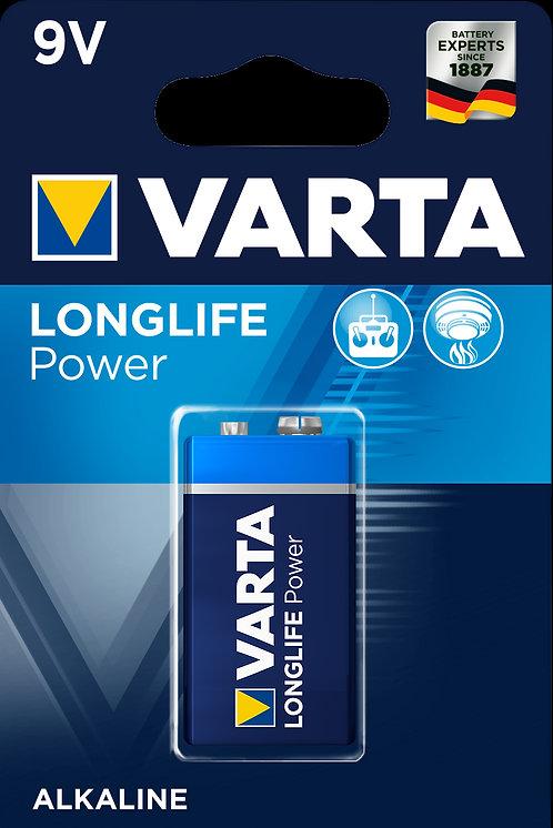 9V - VARTA Baterie