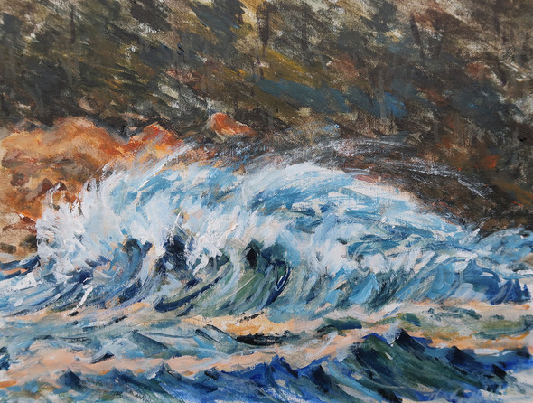 Lobos Waves Winter