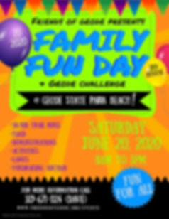Copy of Copy of Family Fun Day Flyer - M