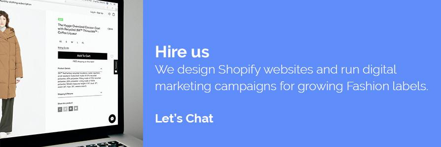 Digital Marketing Agency for Fashion Brand