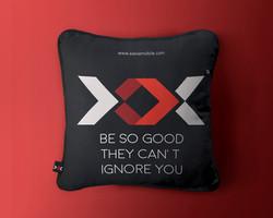 Pillow Back Mock