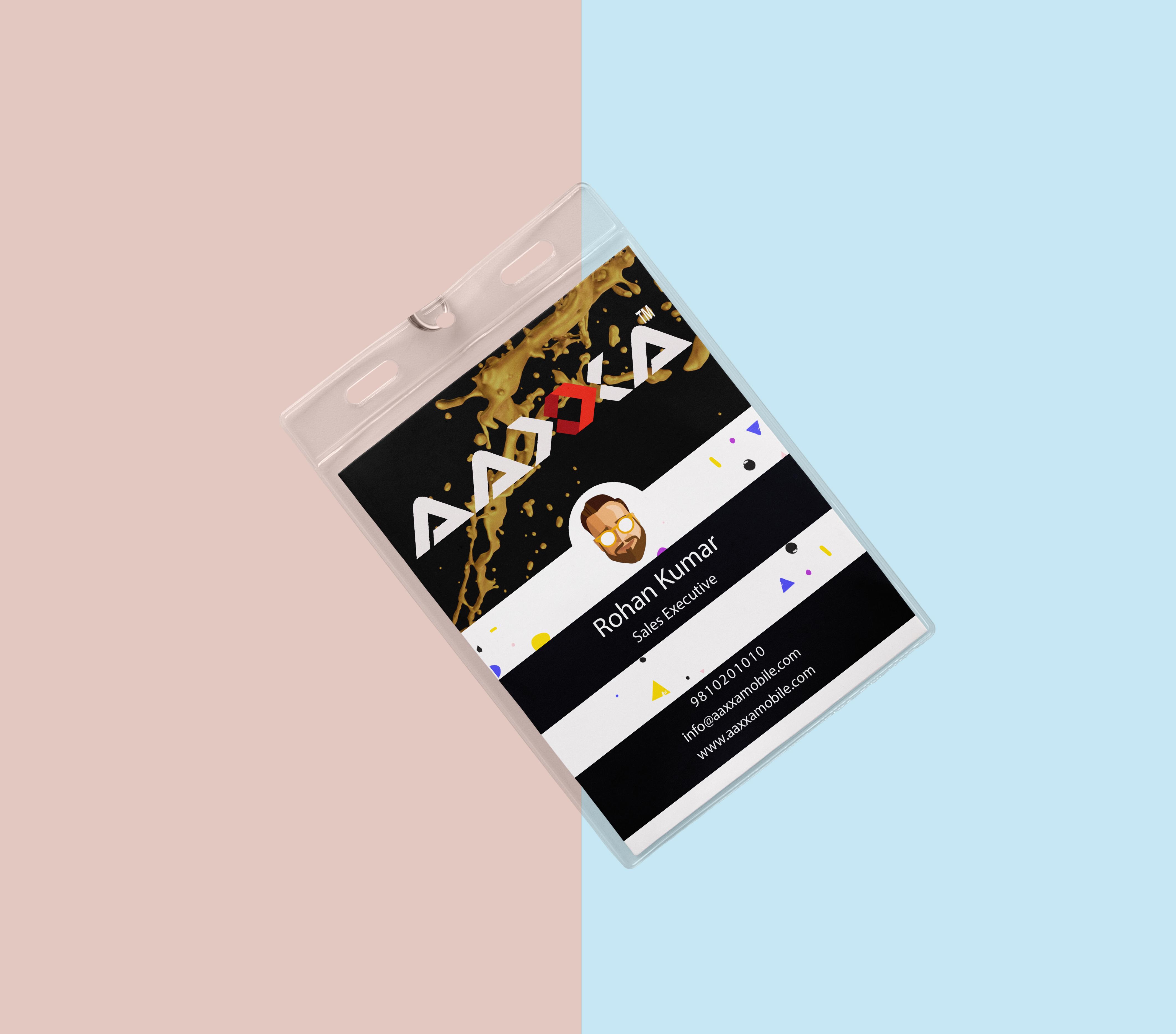Aaxxa ID Card