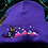 Thumbnail: Black Witch's Cat Embroidered Beanie Hat