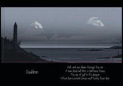 Cauldron- Tir album work
