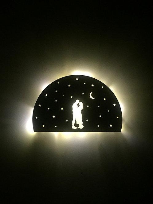 My Silhouette / Stars / Pilli Led Işıklı