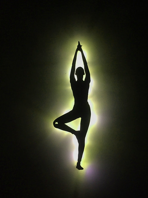 Yoga / Pilli Led Işıklı