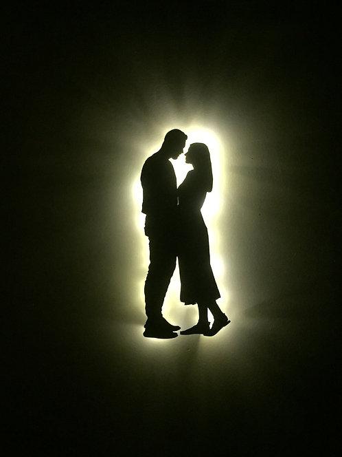 My Silhouette / Pilli Led Işıklı
