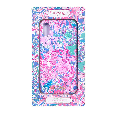 lilly pulitzer iphone xr case, viva la lilly