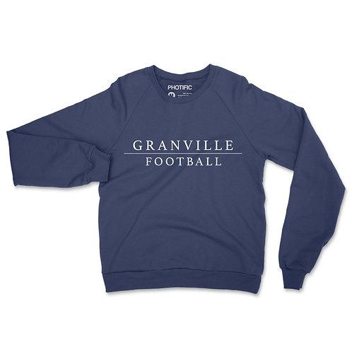 587 Navy Football Crewneck Sweatshirt