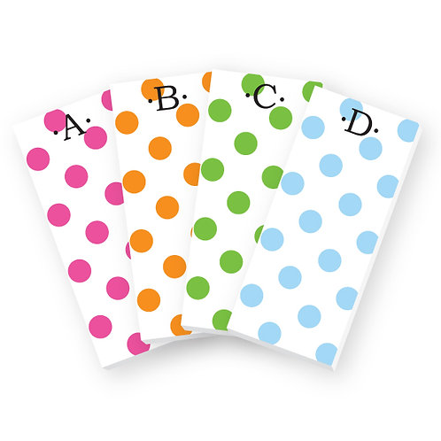 Dot Skinnie Notepads