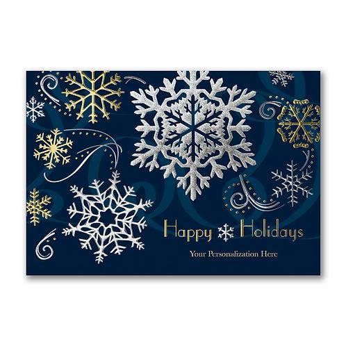 Stylish Holiday - Holiday Card YMMM1242