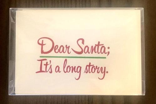 JW Dear Santa ; It's a long story.  Holiday Boxed Set