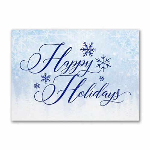 Happy Holidays Snowflakes XG58532FC