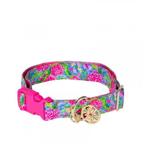 Lilly Pulitzer Dog Collar, Bunny Business - 215600 (medium/large)