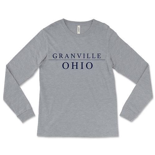 587 Grey Long Sleeve Ohio Tee