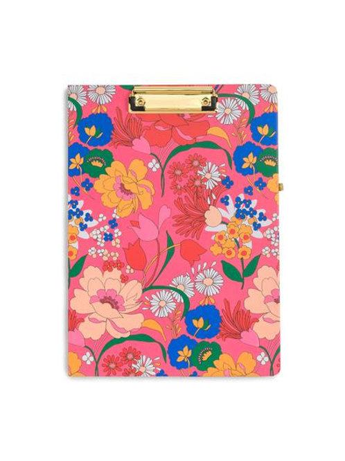 Clip Board Folio, Superbloom Pink
