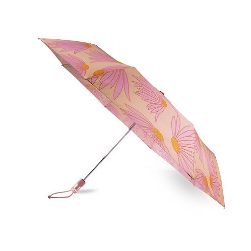 kate spade new york travel umbrella, falling flower