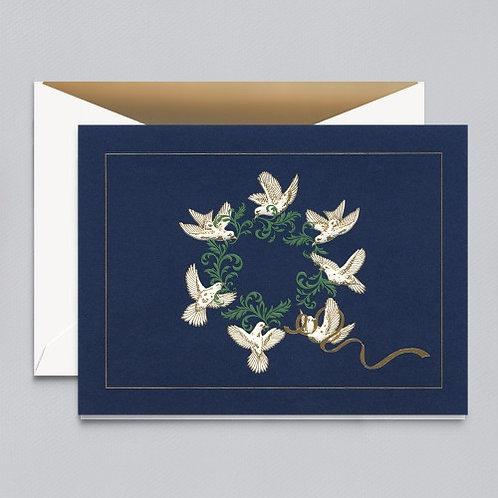 William Arthur - B60809V Circle of Peace Greeting Card