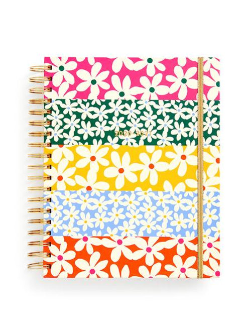 Large 17 Month Academic Planner - Daisies