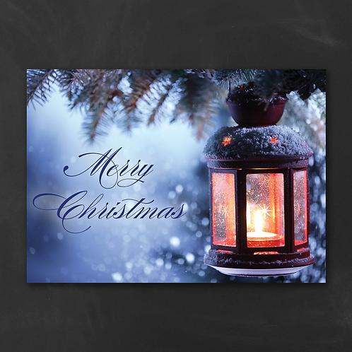 DETAILS Christmas Lantern - Christmas Card YM33312FC