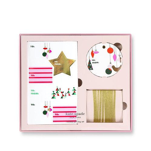 Kate Spade New York Holiday Gift Tag Set