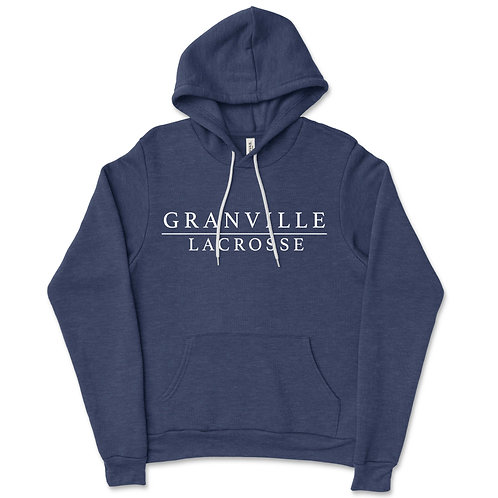 587Granville Navy Fleece Hooded Sweatshirt