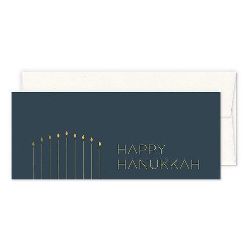 SIMPLE HANUKKAH GREETING CARD